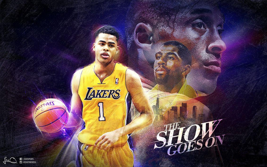 D'Angelo Russell Lakers Wallpapers by skythlee