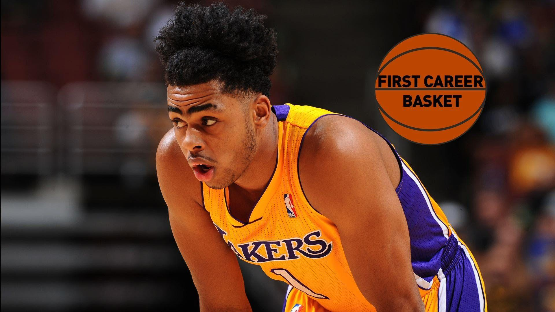 D'Angelo Russell First Career Points