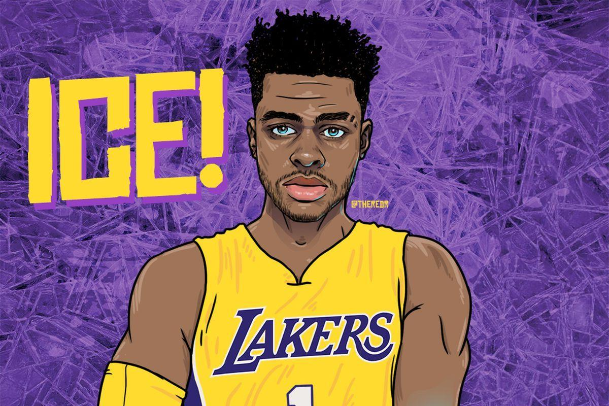 The Lakers are D'Angelo Russell's team now