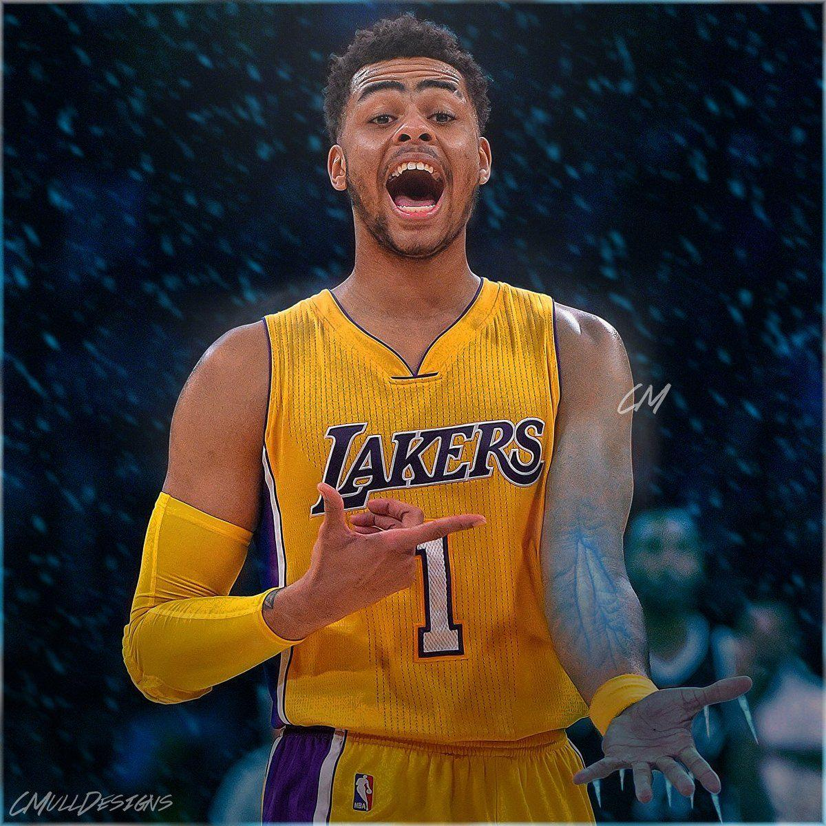 NBA on Twitter: D'Angelo Russell's got it going for the @Lakers