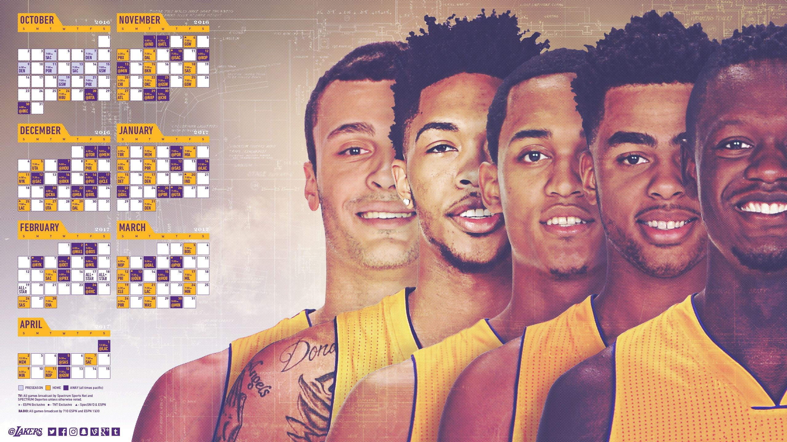 D'Angelo Russell HD Backgrounds