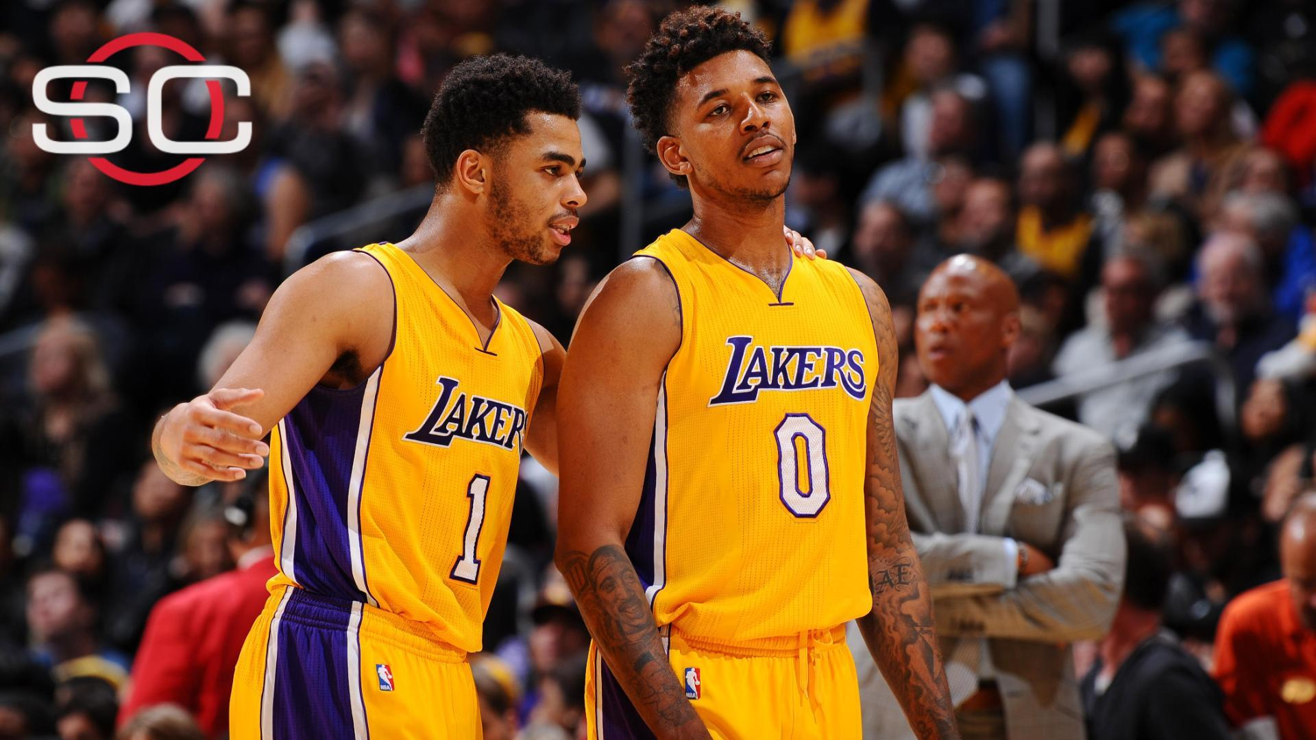 Former pros stunned at D'Angelo Russell's disregard for locker