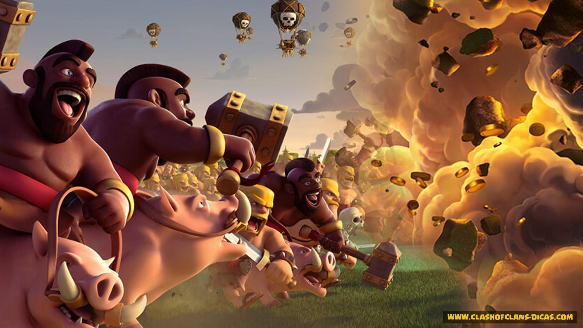 Wallpaper Of Clash Of Clans: Wallpaper Cave