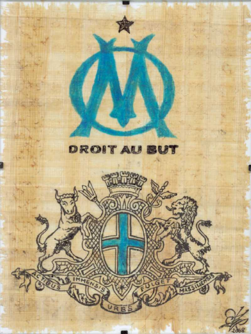 Olympique De Marseille Wallpapers Wallpaper Cave