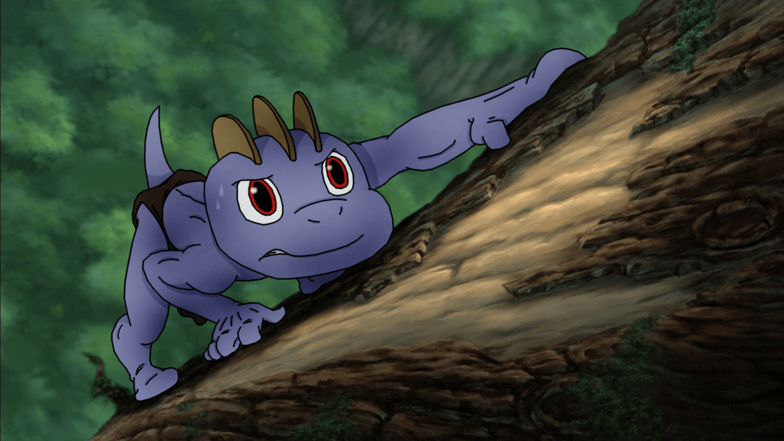 MACHOP AS YOUNG TARZAN: Learning to Survive by PoKeMoN