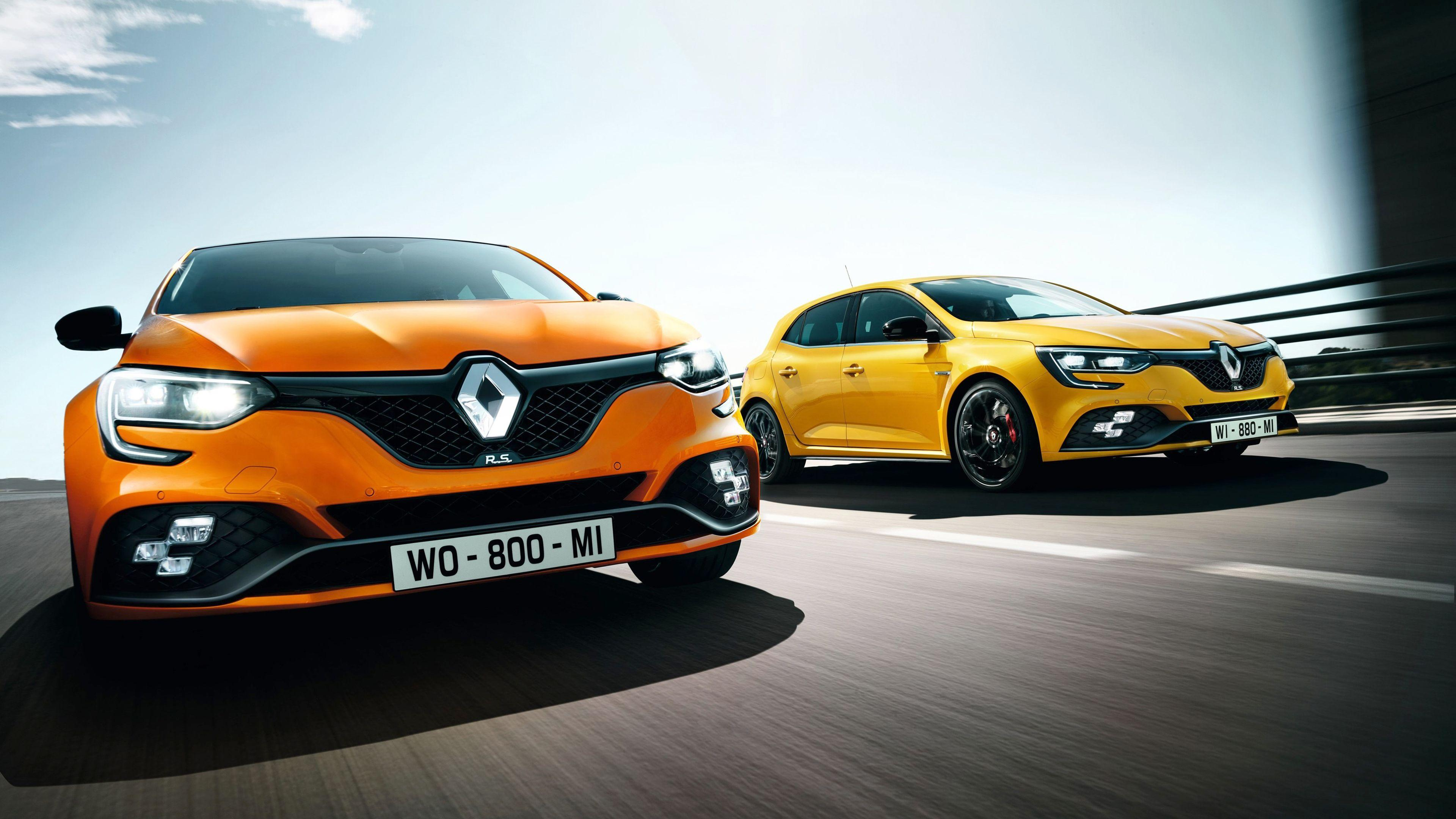 2018 Renault Megane RS 4K 5 Wallpapers