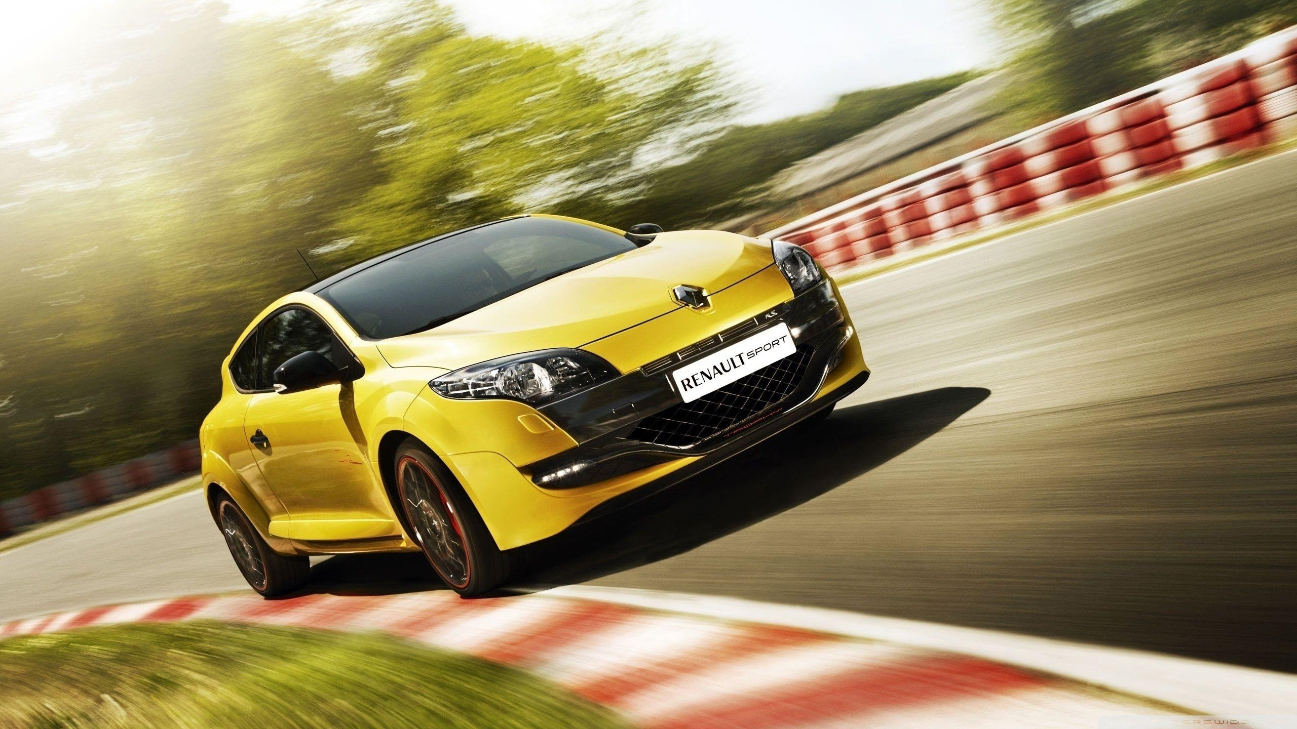 Renault Megane RS Yellow ❤ 4K HD Desktop Wallpapers for 4K Ultra HD