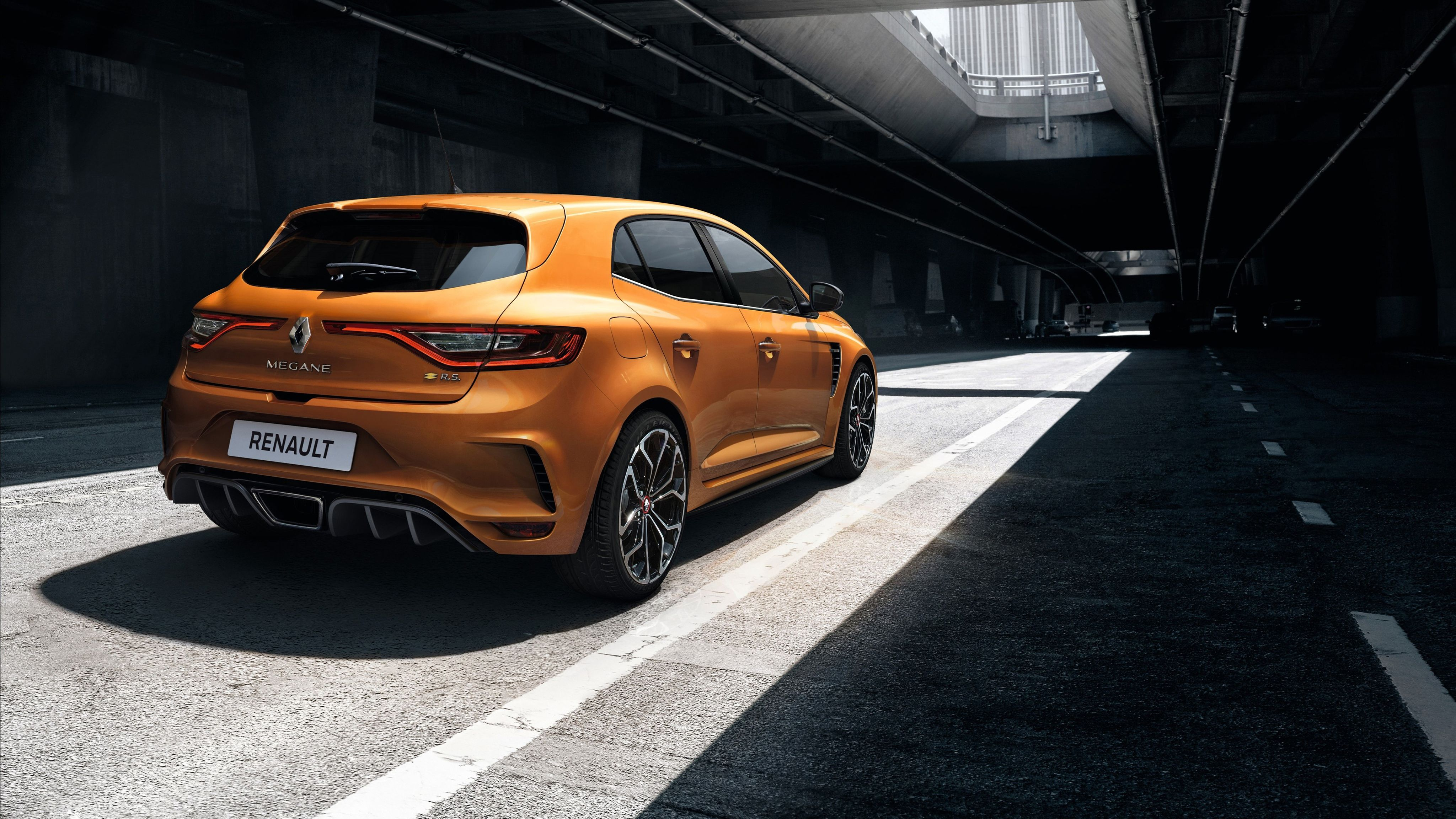 2018 Renault Megane RS 4K 6 Wallpapers