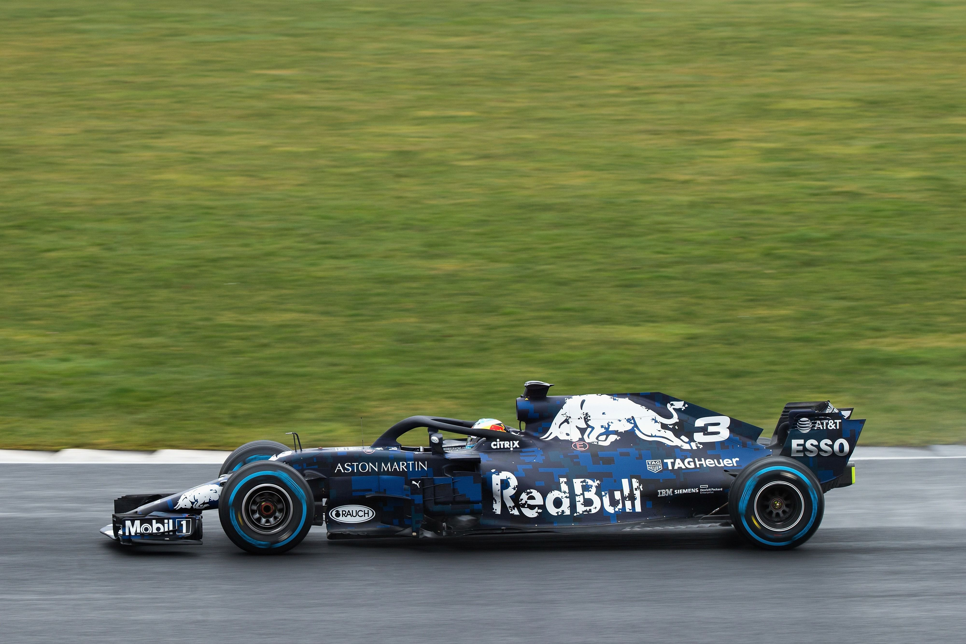 94 Red Bull Racing Rb14 Wallpapers On Wallpapersafari: Red Bull Racing RB14 Wallpapers