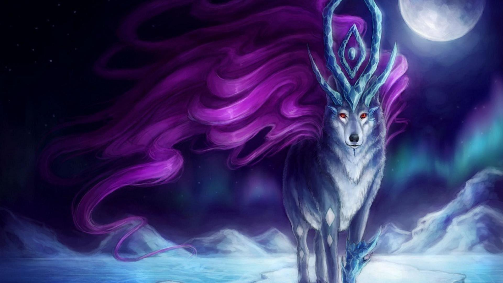 Wolf Anime Wallpapers Wallpaper Cave