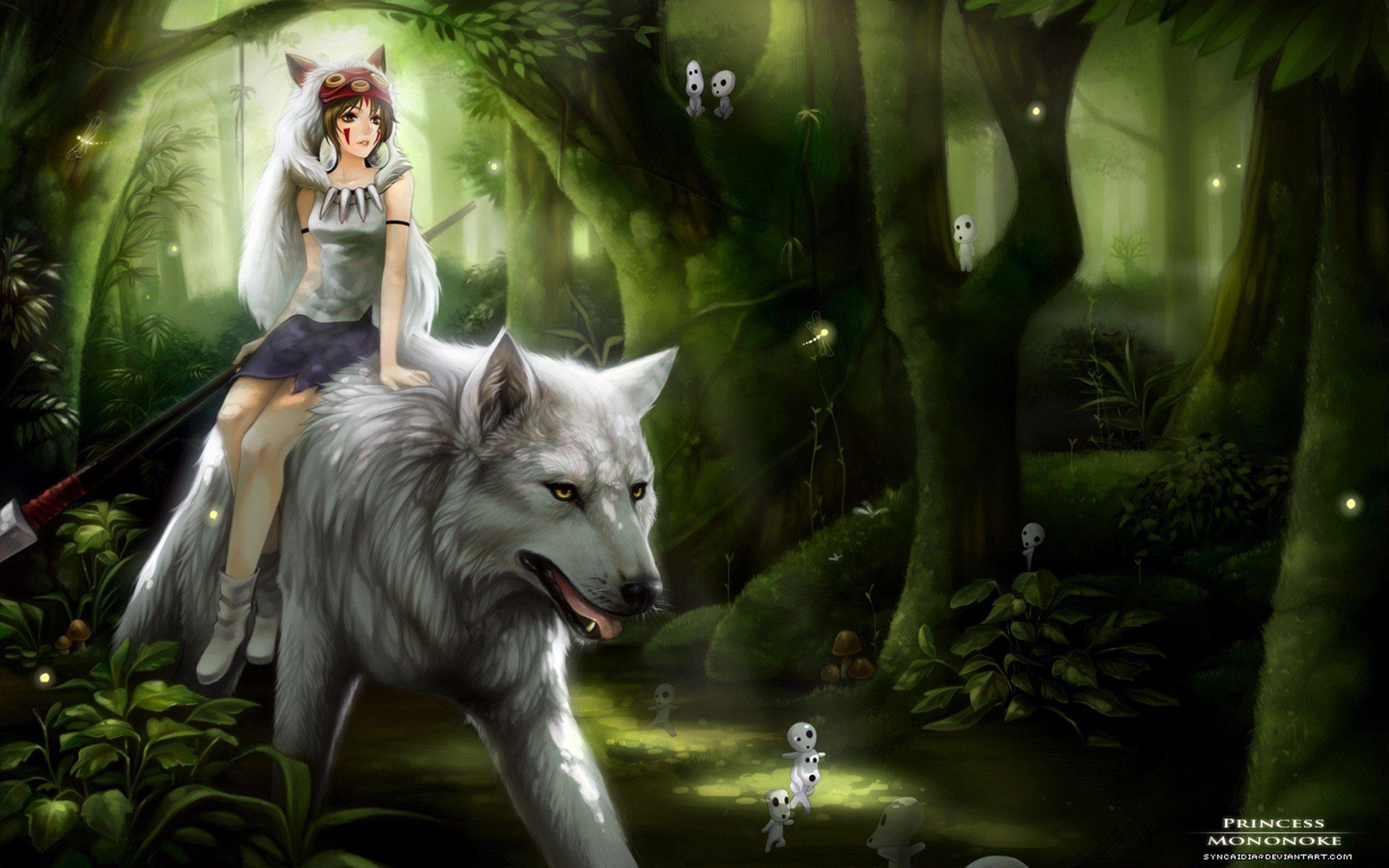 Anime Wolves Wallpapers Wallpaper Cave