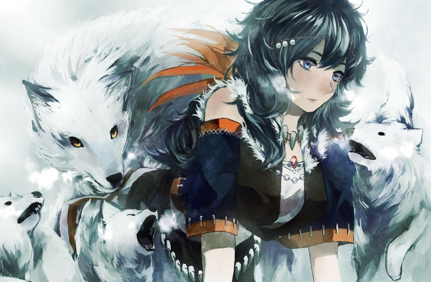 Anime Wolf Girl Wallpapers Wallpaper Cave