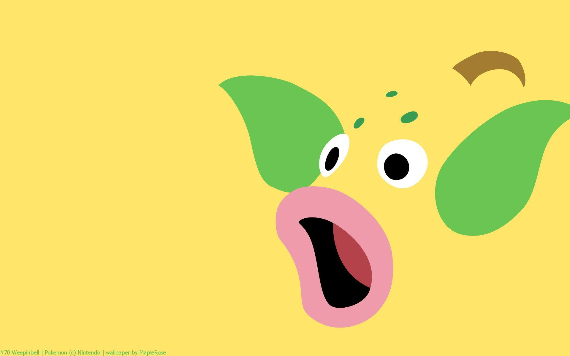 Weepinbell Pokemon HD Wallpaper - Free HD wallpapers, Iphone ...