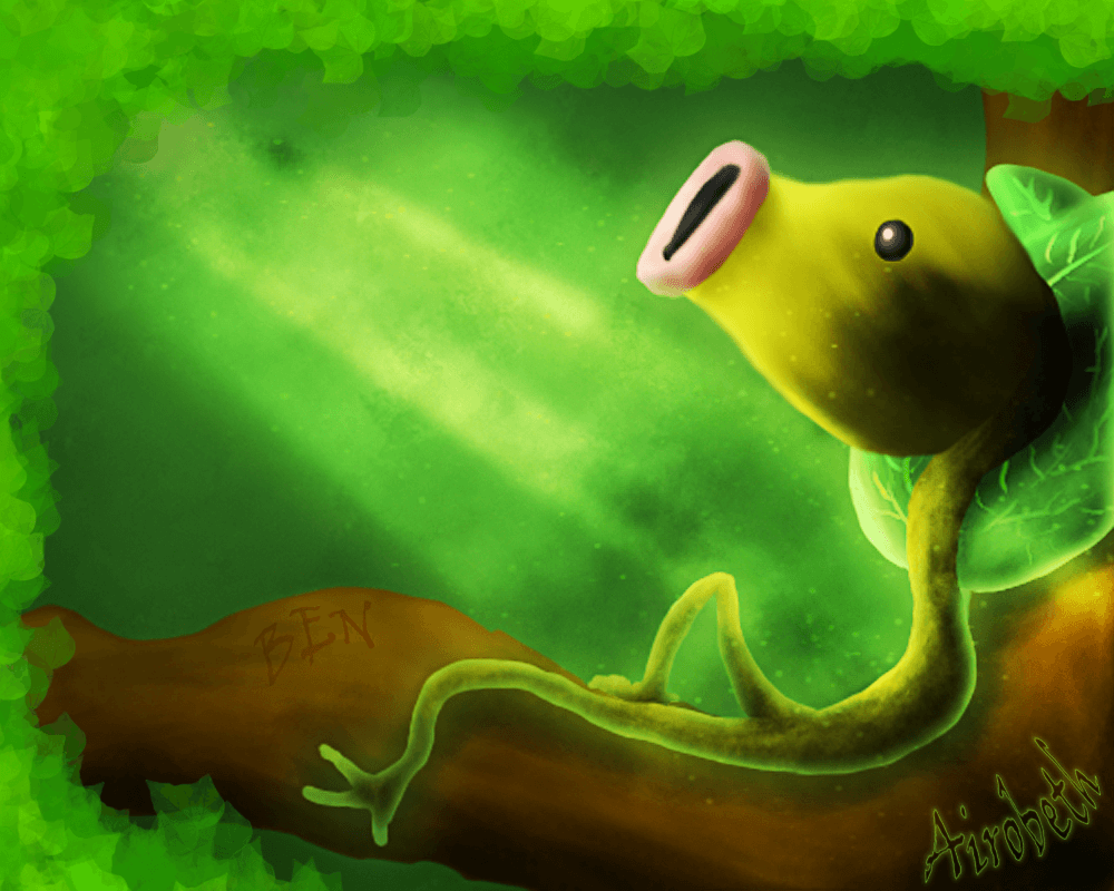 Ben The Bellsprout by Airobeth on DeviantArt