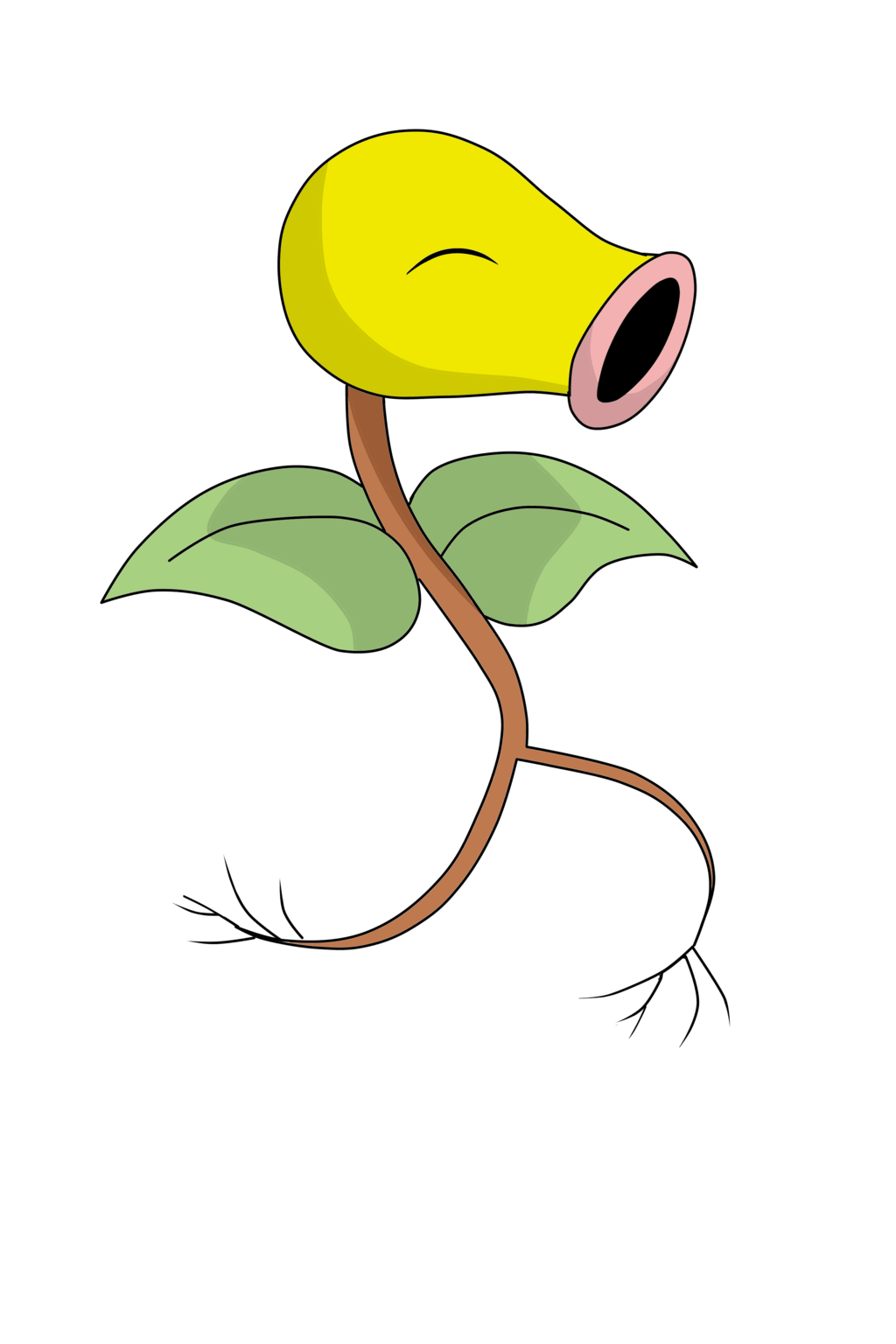 Grass Collab-Bellsprout:. by xGoldenLocks on DeviantArt