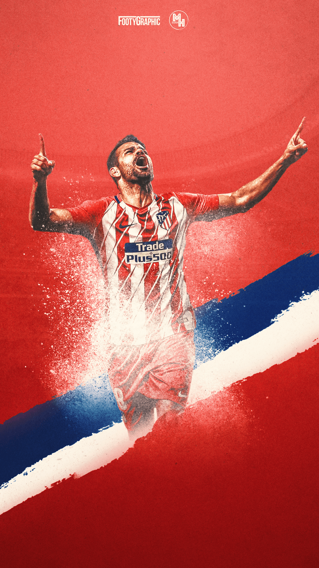 Diego Costa O FootyGraphic Football Lockscreens