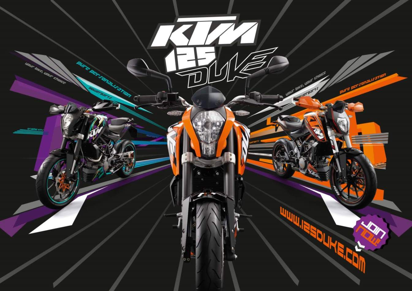KTM DUKE 125 REVIEW AND WALLPAPERS