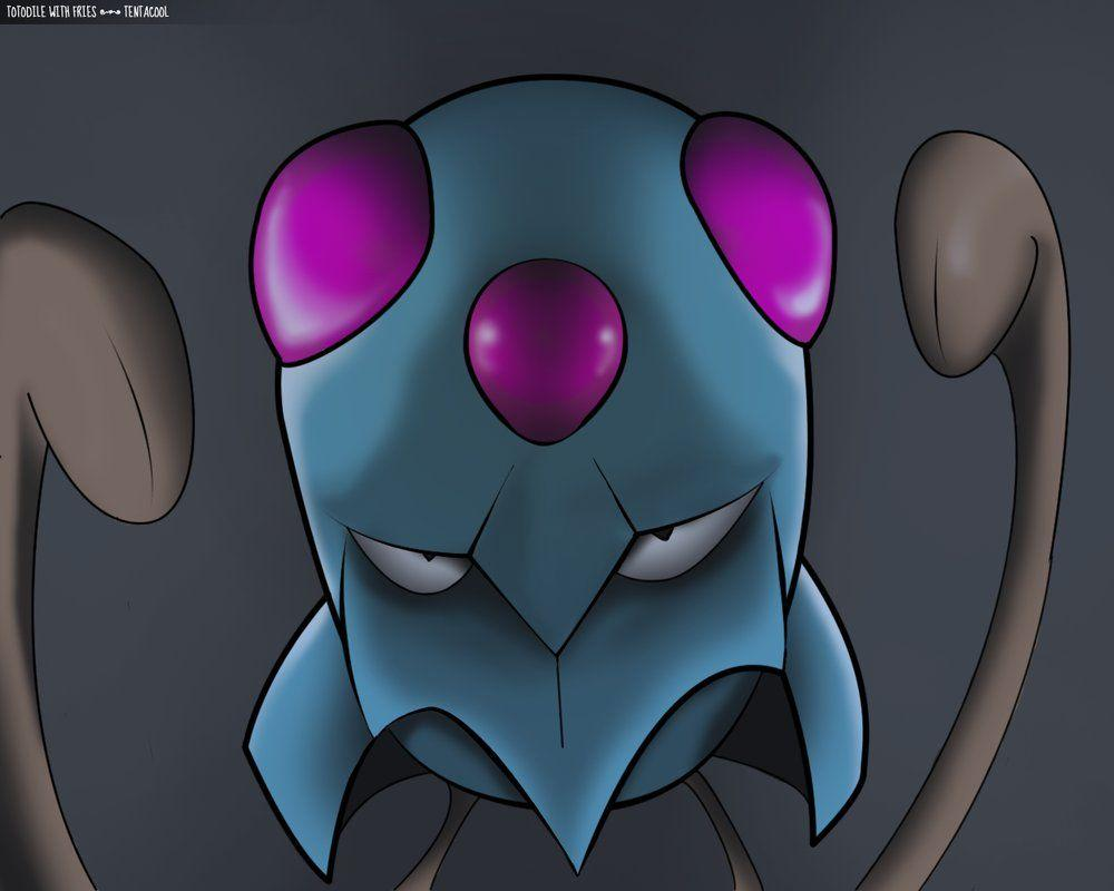 Tentacool by Totodile