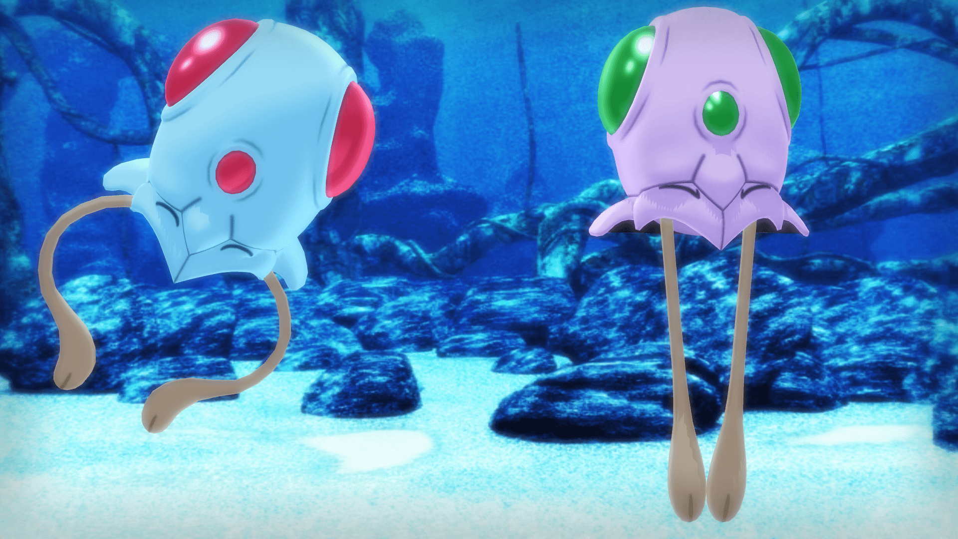 MMD PK Tentacool DL by 2234083174