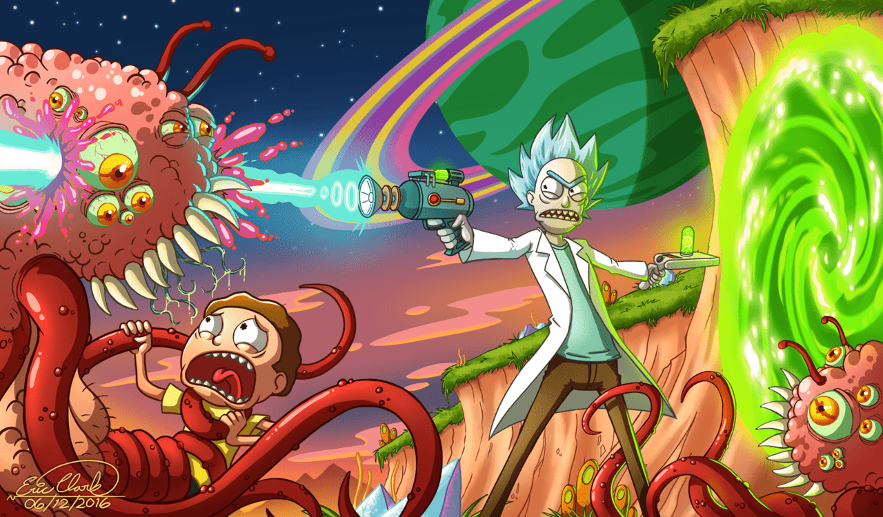 rick and morty hd wallpapers wallpaper cave