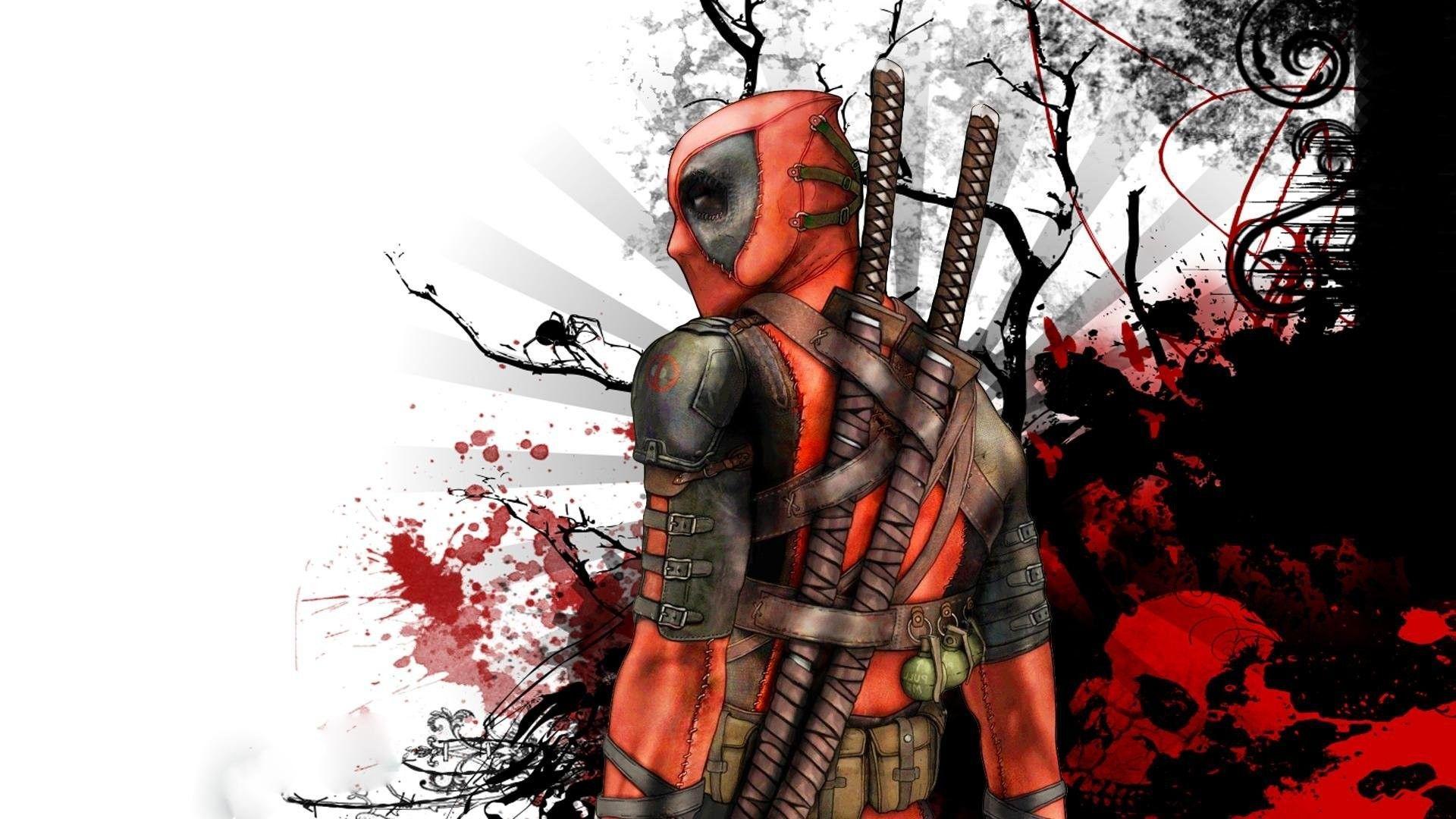 Deadpool Logo Wallpaper 76 Images