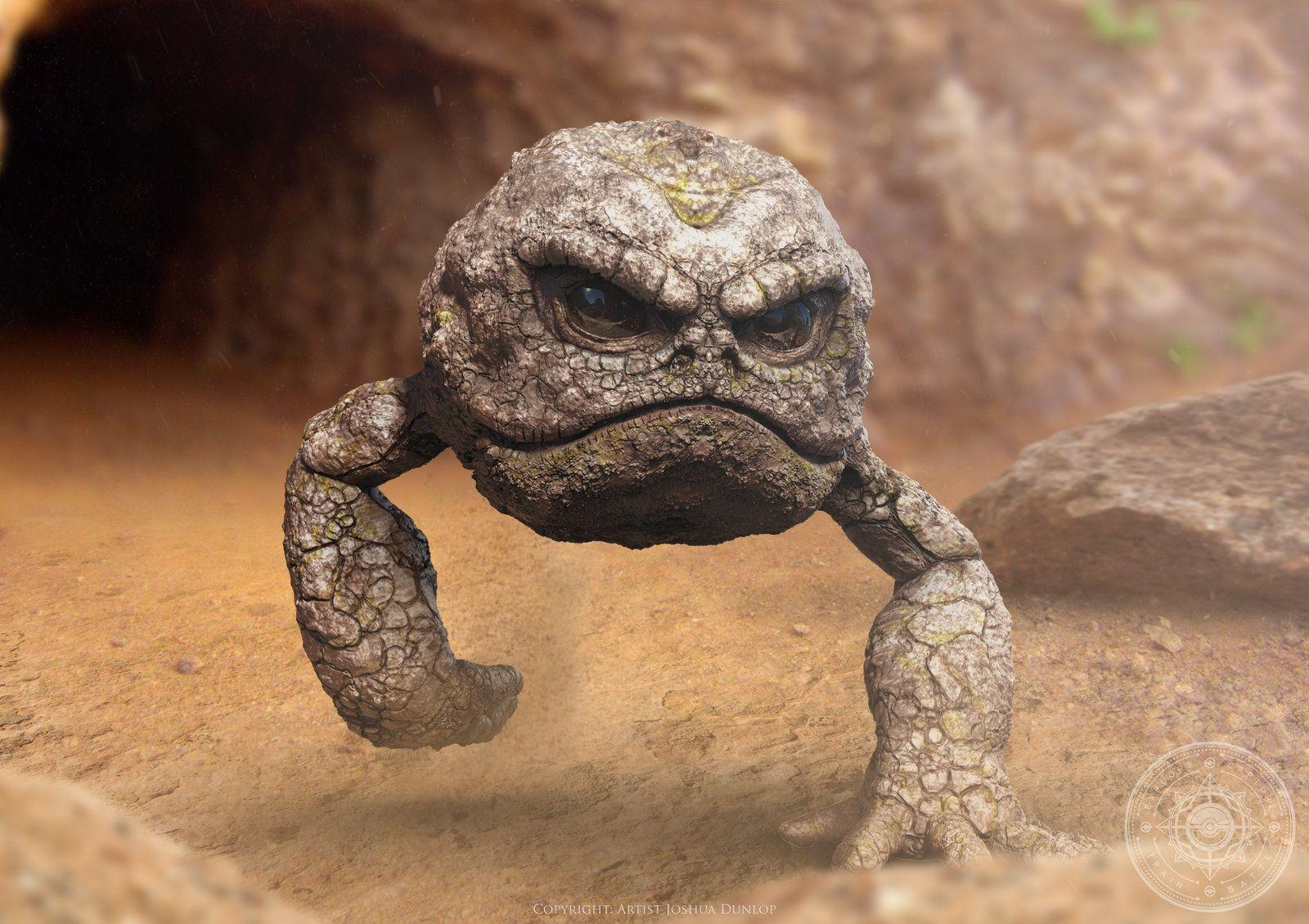 Geodude by JoshuaDunlop on DeviantArt