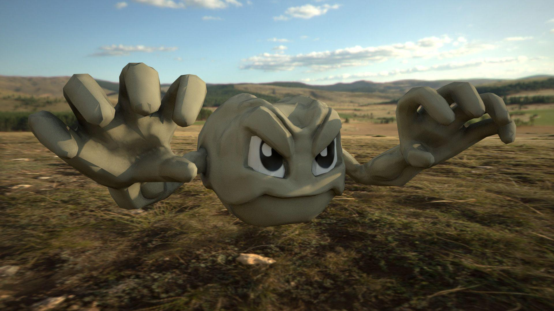 ArtStation - Geodude, David Pierotti