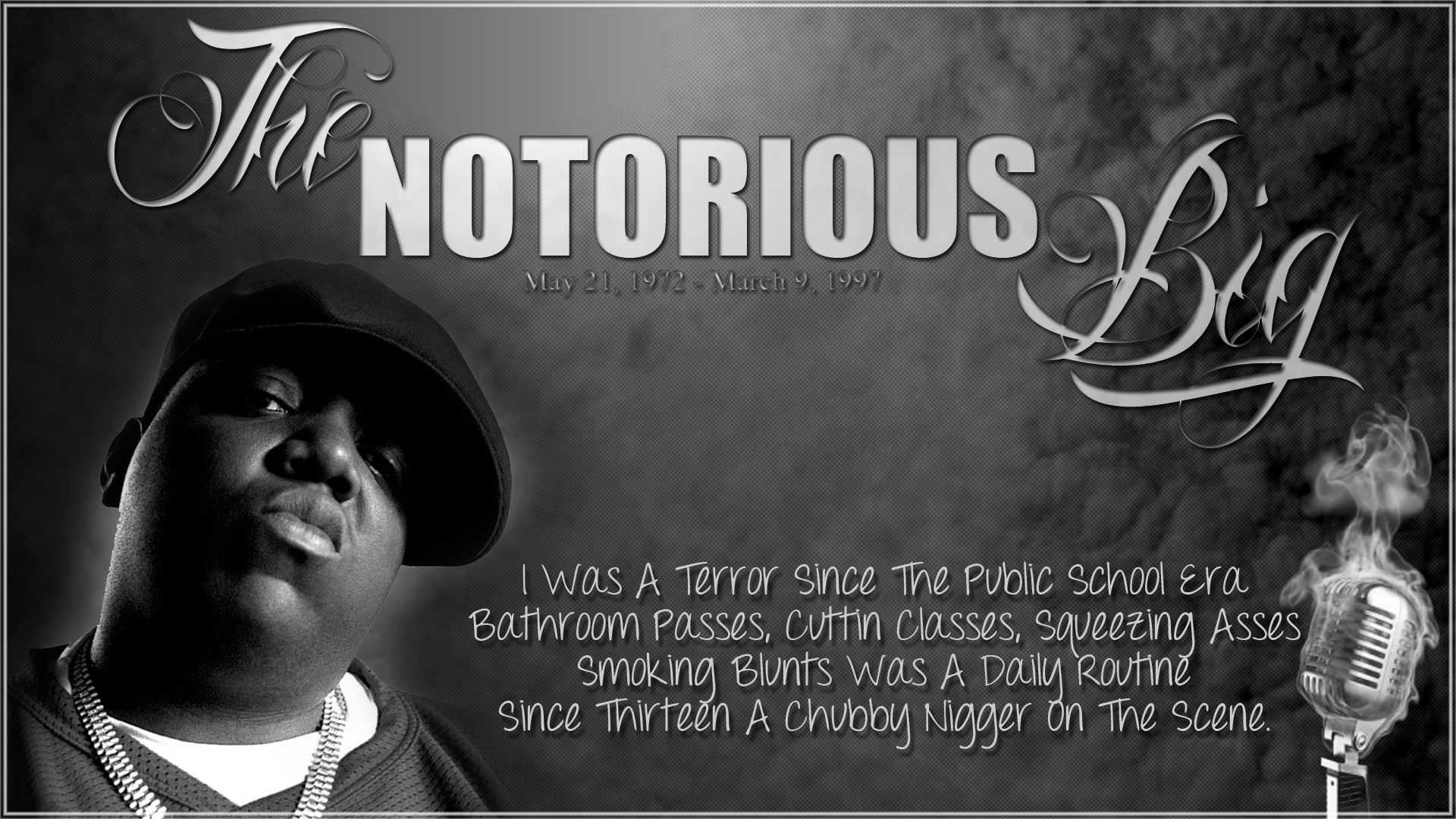 Notorious B I G Wallpapers 4K Ultra HD