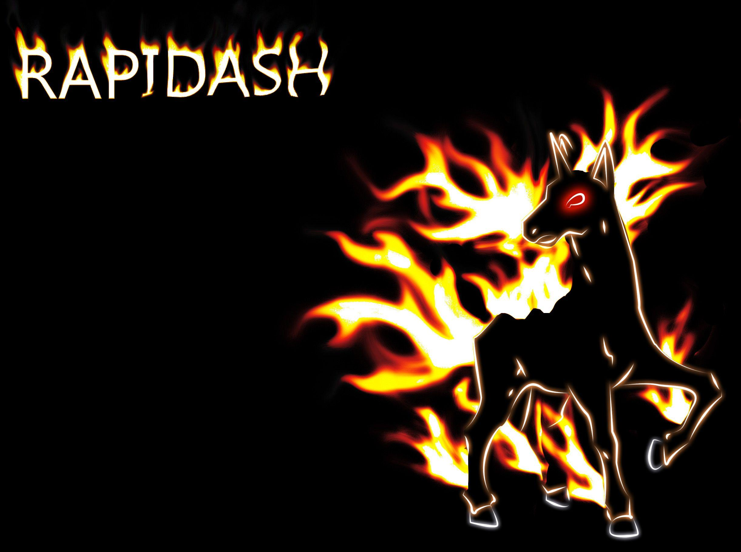 Rapidash Wallpaper by buckheadgar on DeviantArt