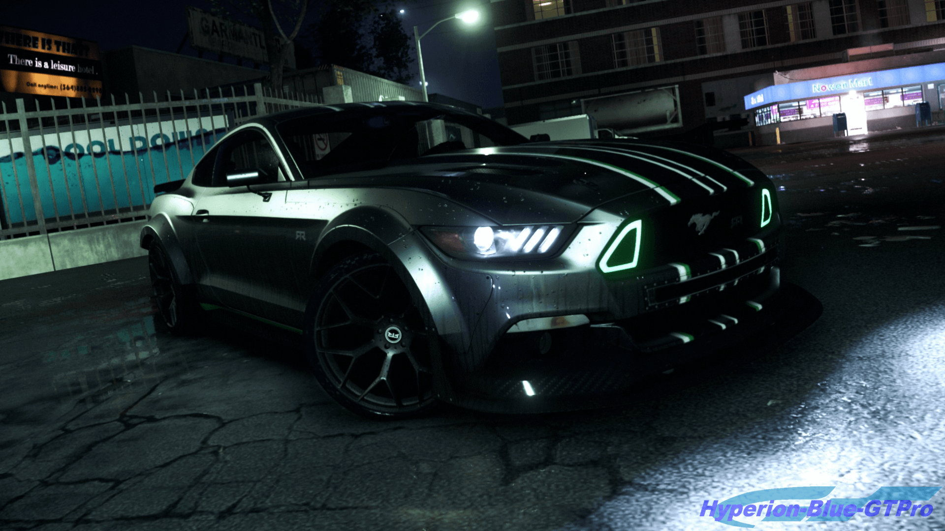 Ford Mustang Is Ready For NFS Payback By Hyperion Blue GTPro On