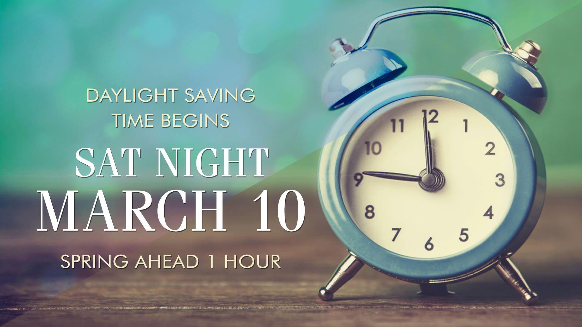 Daylight Saving Time is on Sunday March 11 2018 3112018 a time when most of the US will move the clock forward by one full hour