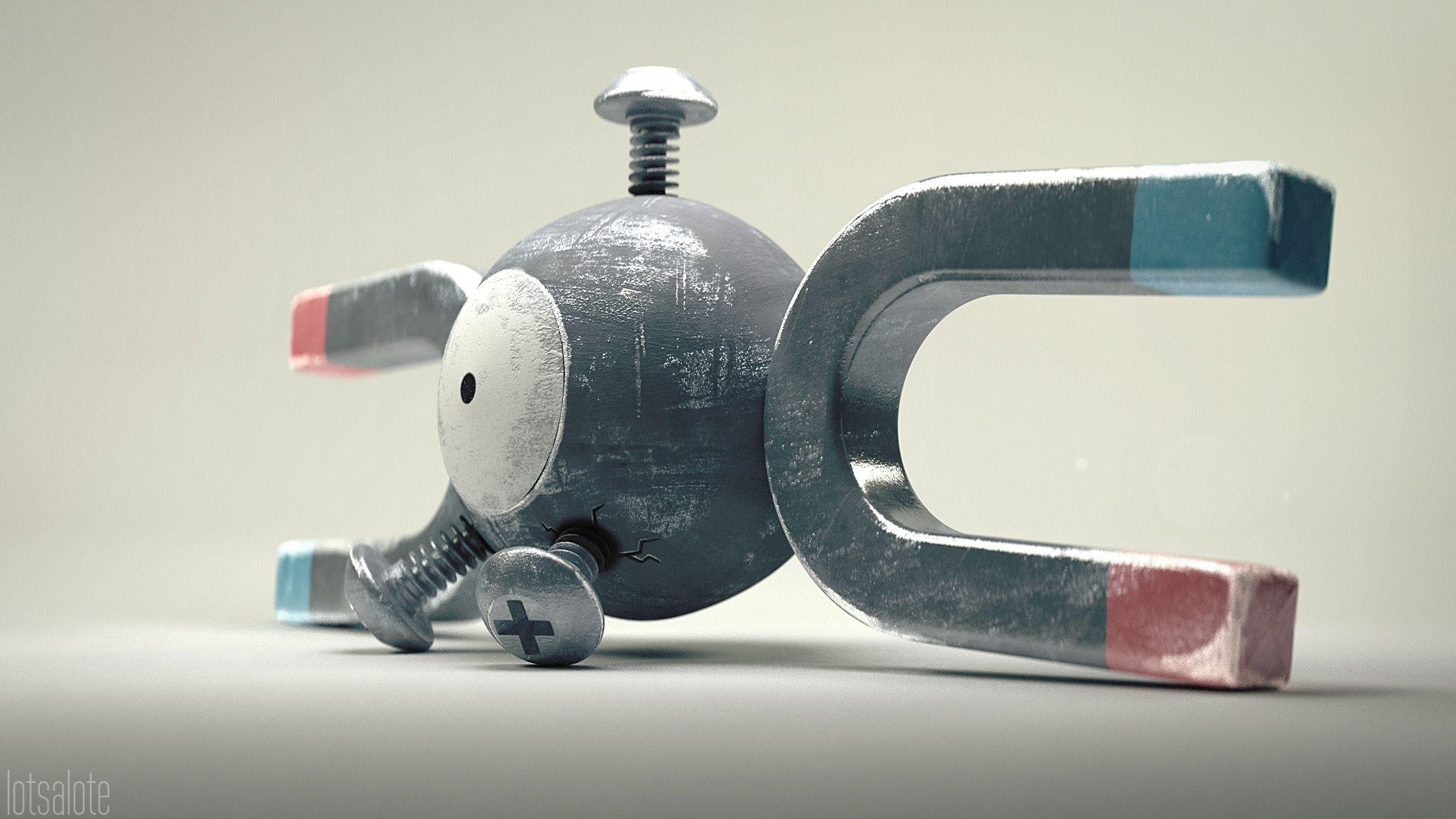Magnemite Full HD Wallpaper and Background | 2304x1296 | ID:679959