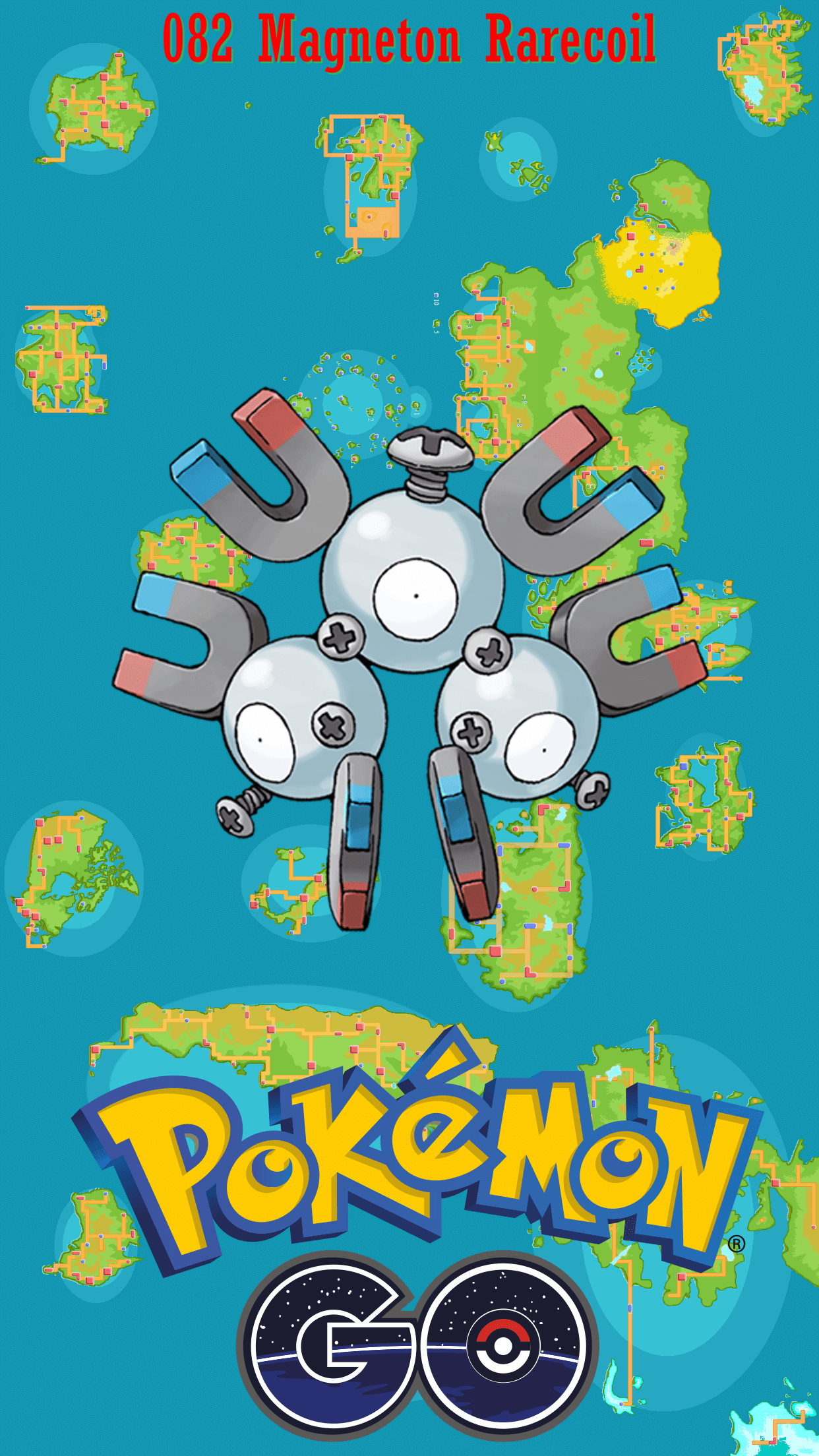 082 Street Map Magneton Rarecoil