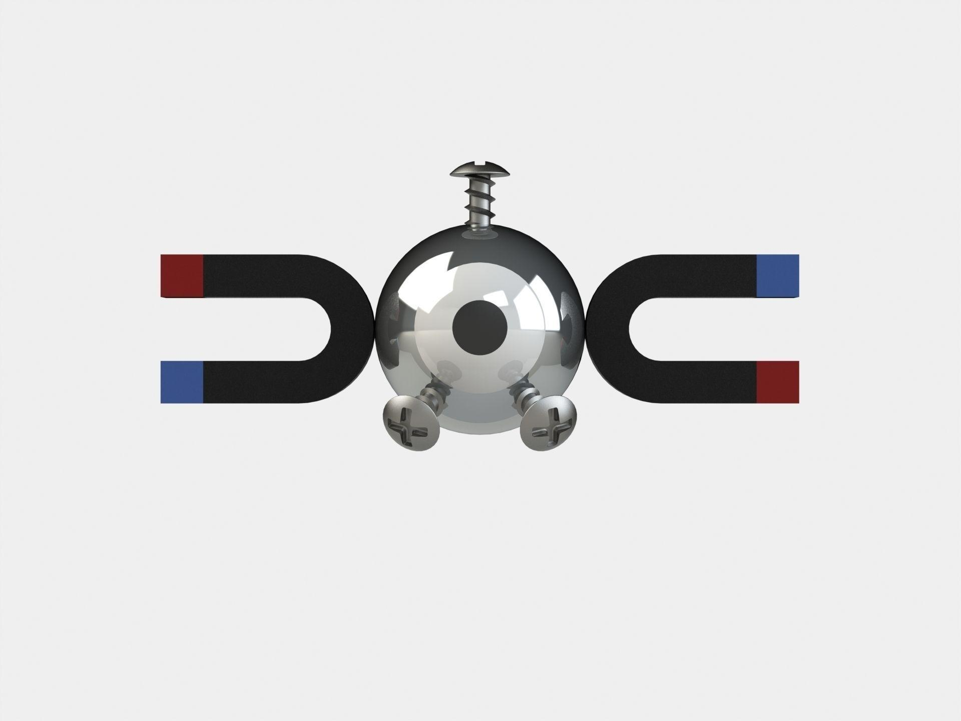 Magnemite 3D | CGTrader