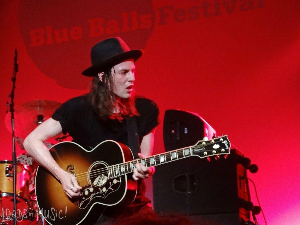 James Bay at Blue Balls Festival