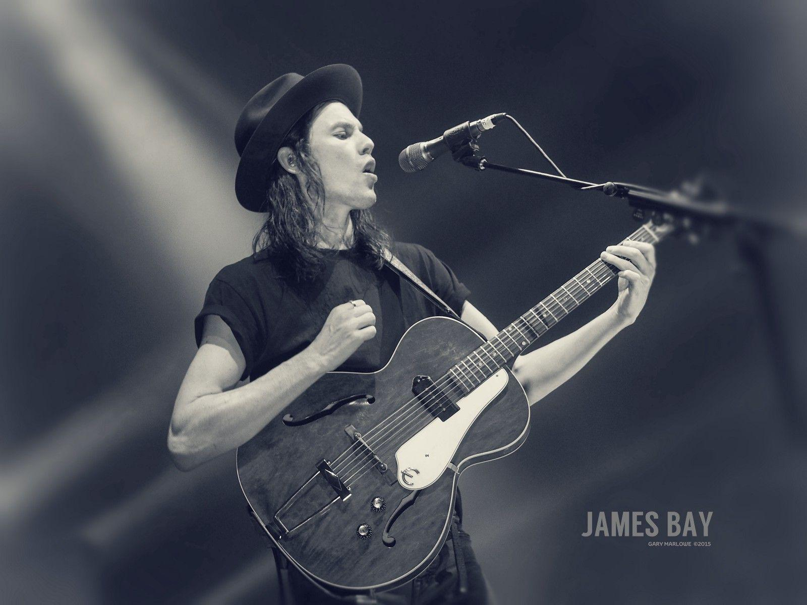 Shot! James Bay at The Dome, Brighton – Gary Marlowe – Medium