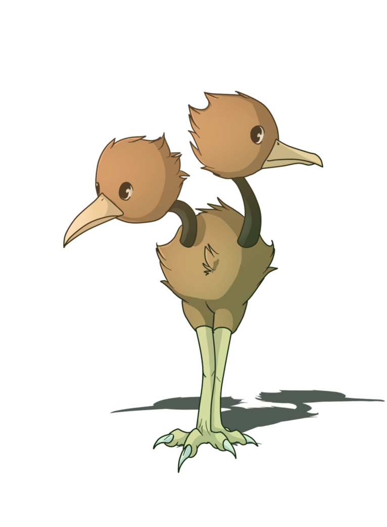Pokemon Doduo by Anais-thunder-pen on DeviantArt