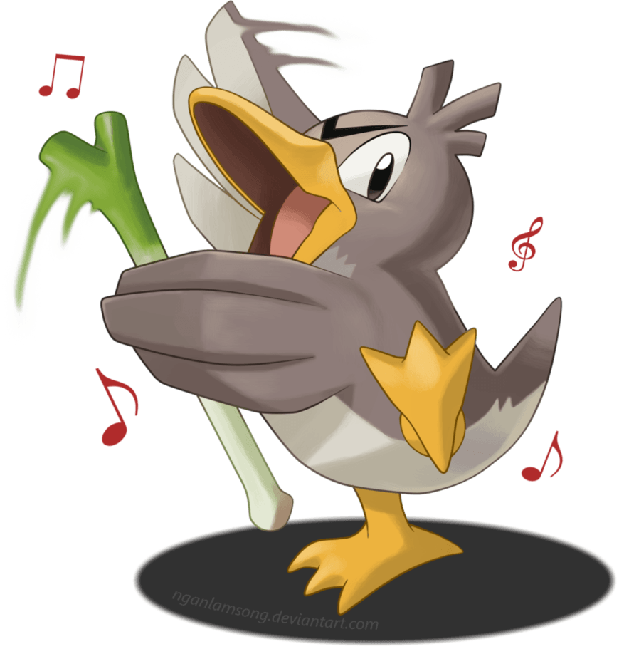 083 - Farfetch'd by nganlamsong on DeviantArt