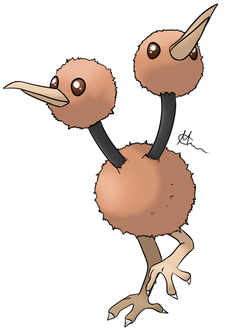 Doduo by dracolein on DeviantArt