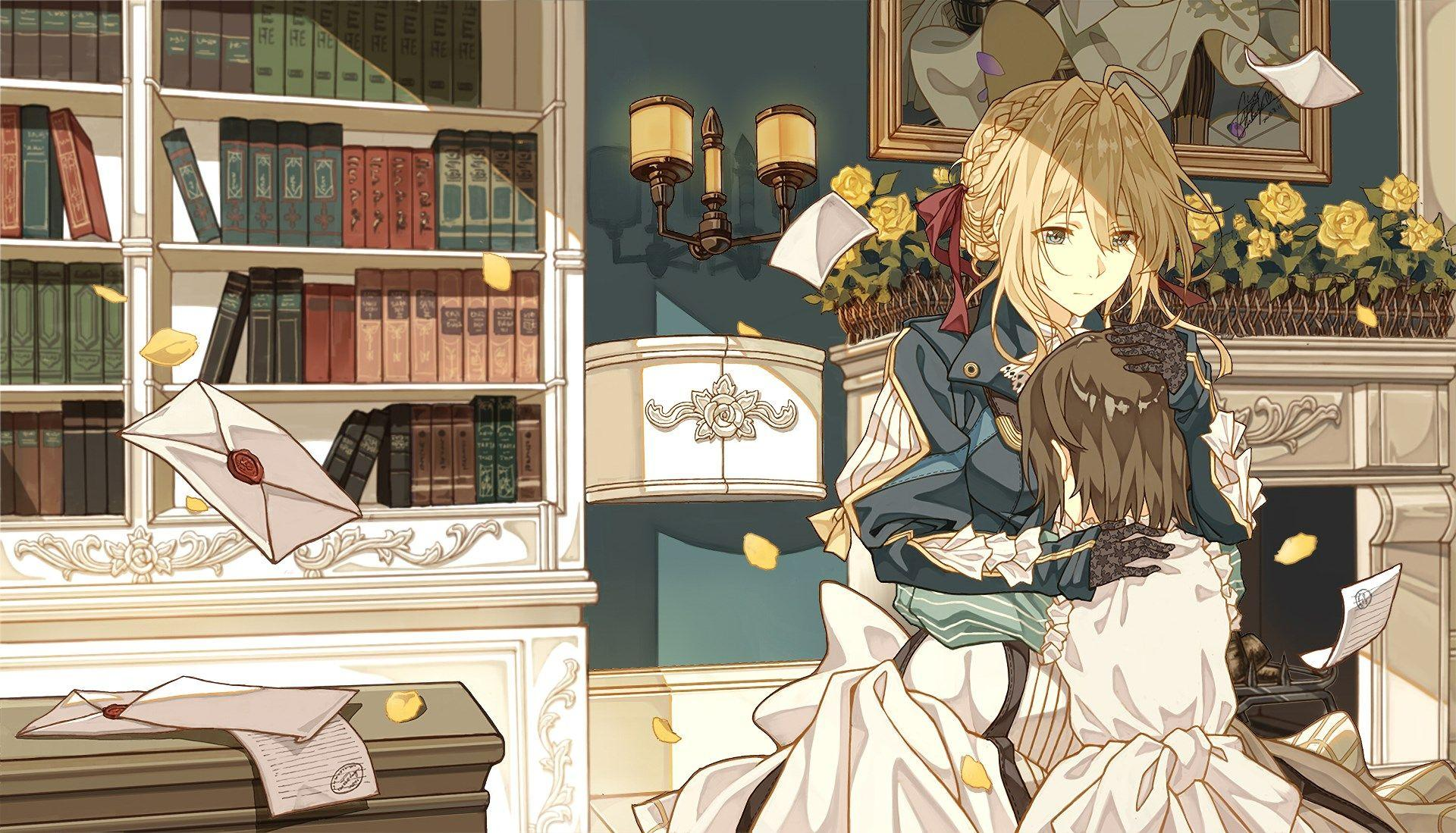 hd wallpapers violet evergarden