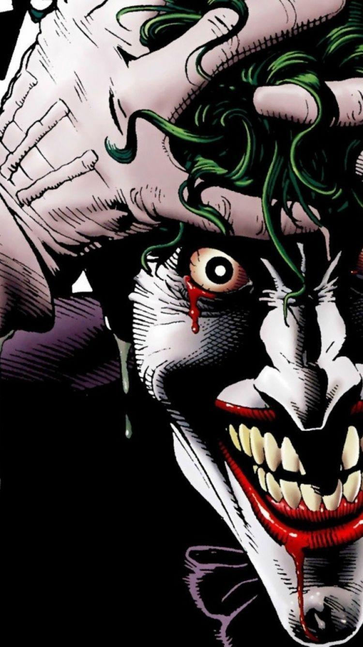 Comics Joker 750x1334 Wallpaper ID 509917