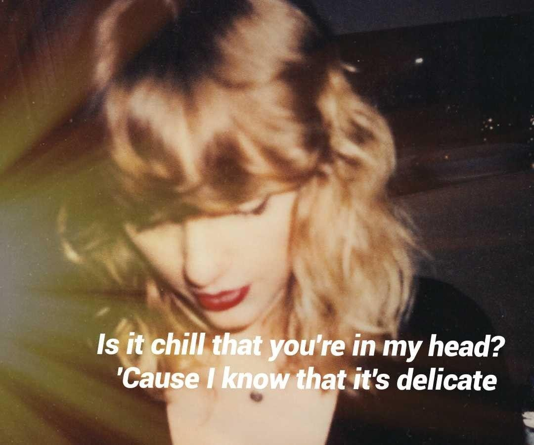 Delicate - Taylor Swift #REPUTATION #TAYLORSWIFT | TAYLOR SWIFT ...