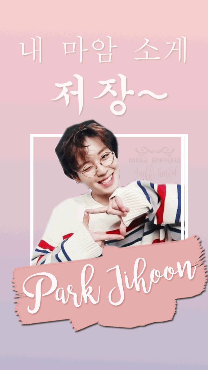 Park Jihoon Jeojang aegyo Wallpaper and Lockscreen... - FY! KPOP