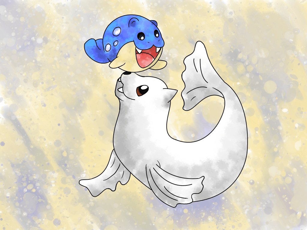 Dewgong and Spheal by AgentTF on DeviantArt