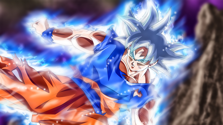 Mastered Ultra Instinct Goku Wallpapers Wallpaper Cave