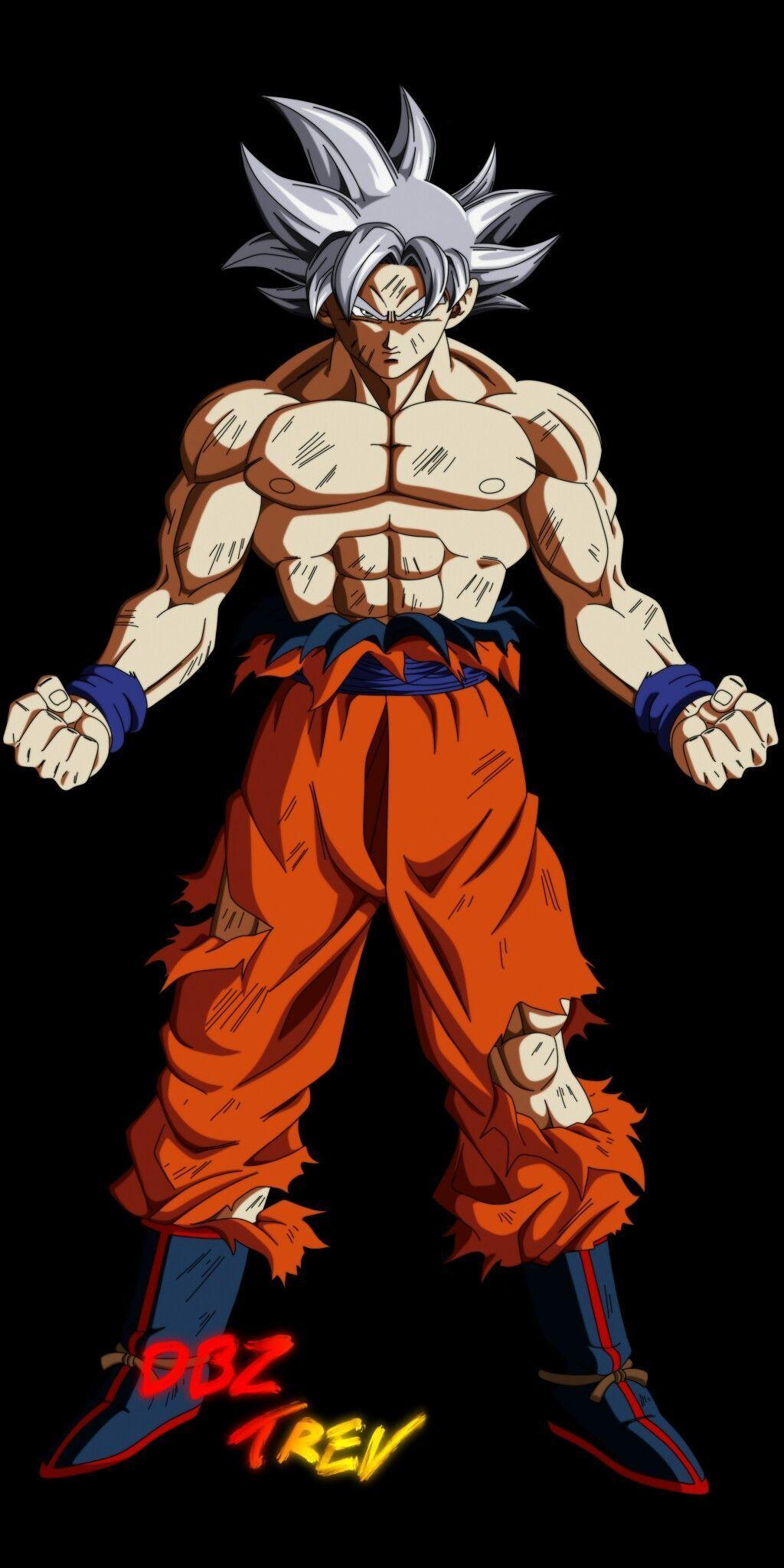 Goku Mastered Ultra Instinct Wallpapers - Wallpaper Cave