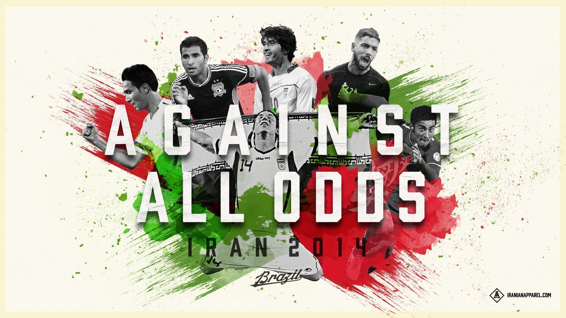 Iran National Football Team Teams Background