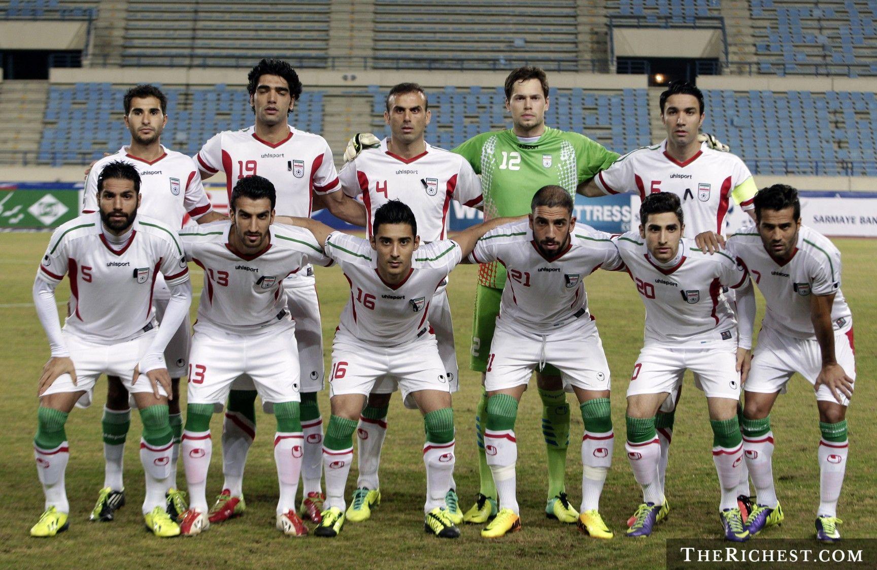 Iran National Football Team Teams Background 6