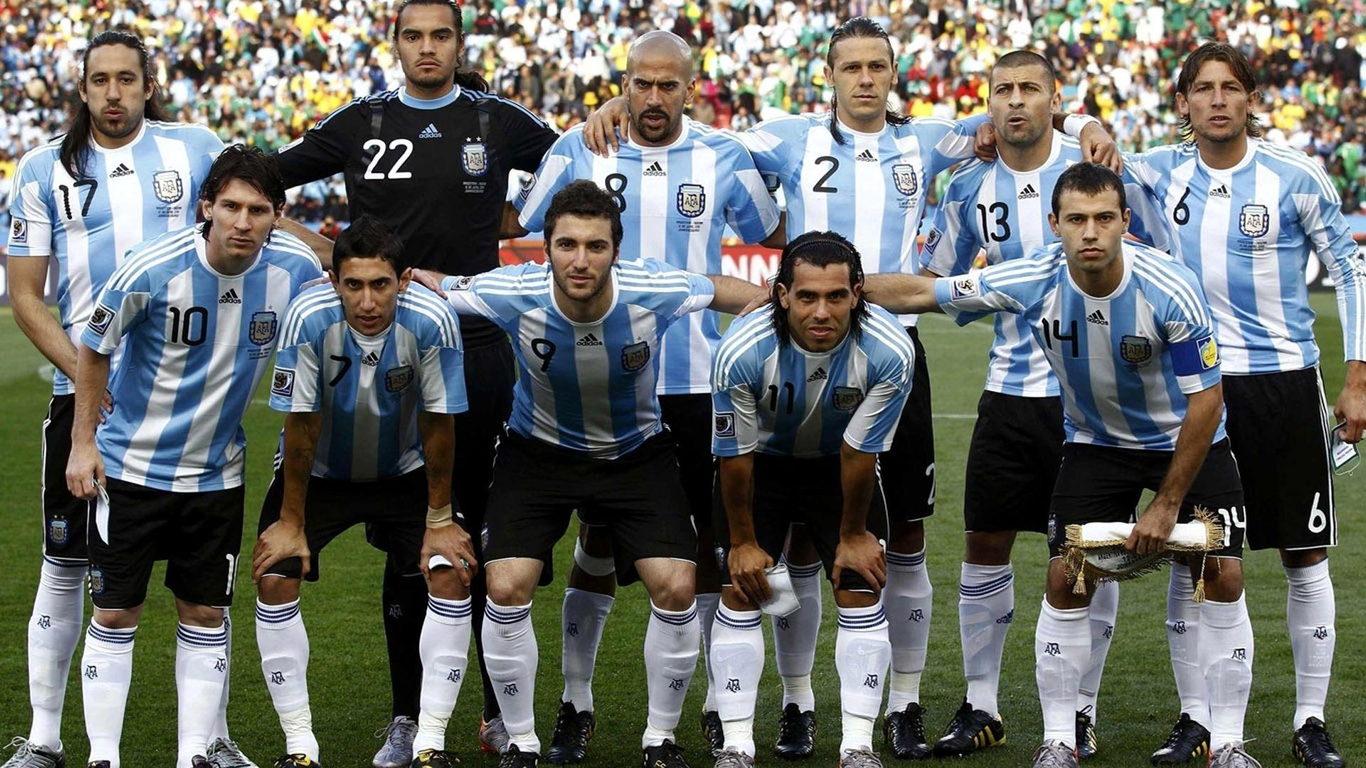 Argentina National Football Team Zoom Background 3