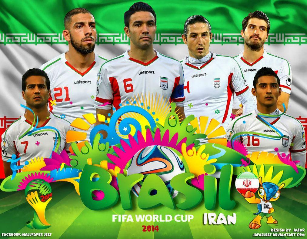 Iran World Cup 2014 Wallpapers by jafarjeef